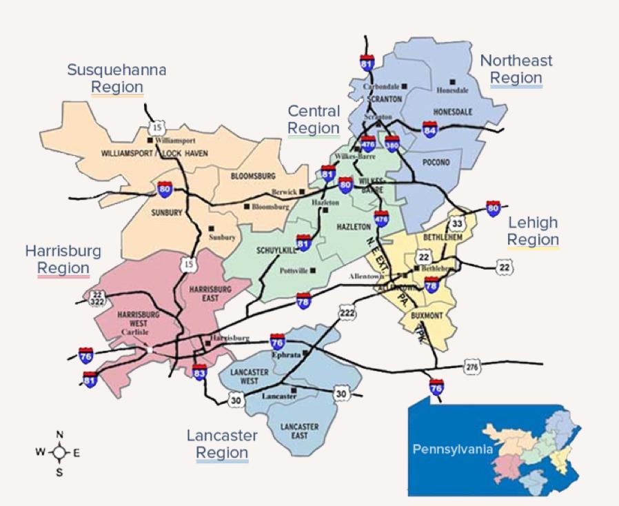 PPL Regions